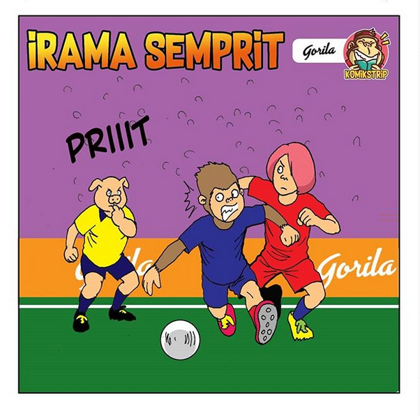 Komik Strip : Irama Semprit