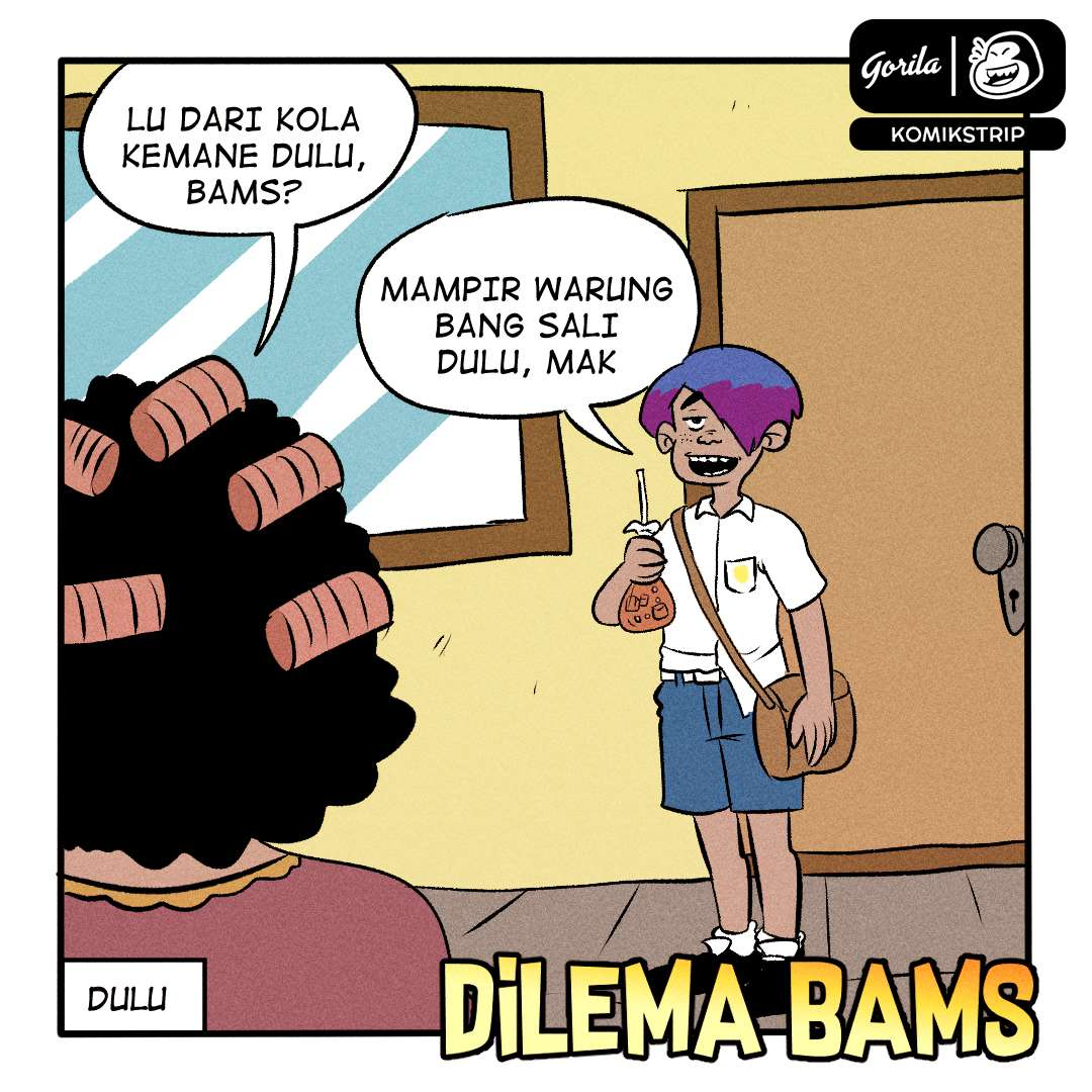 Komik Strip : Dilema Bams