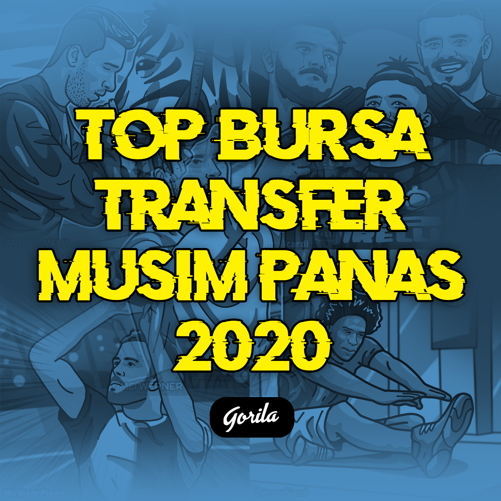 Top Bursa Transfer Musim Panas 2020