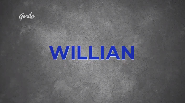 Player of The Week by Gorila Sport | Willian